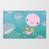 The Octonauts Jellyfish … Canvas Print