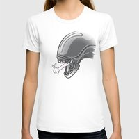 alien T-shirts featuring Alien?! by Matisse Lin