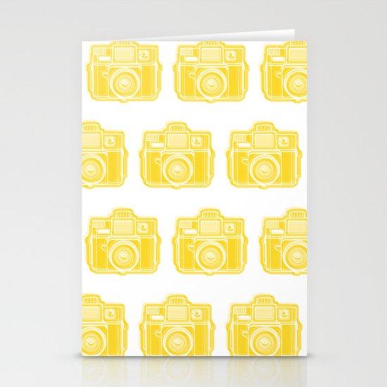 I Still Shoot Film Holga Logo - Sunshine Yellow Stationery Card