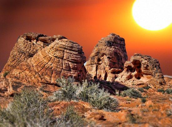 Valley of Fire, Nevada, USA  Art Print