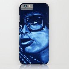 badu?!-blue iPhone 6s Slim Case