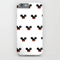8 Bit Mouses  iPhone 6 Slim Case