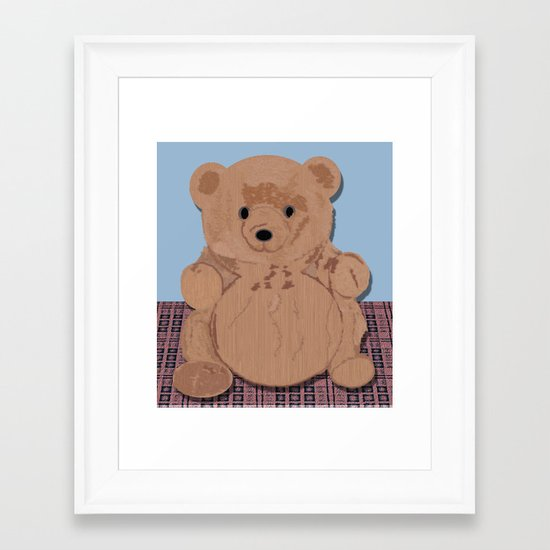 Wes T. Bear Framed Art Print