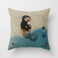 La_CriME Throw Pillow