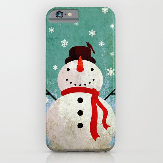 snowpy christmas iPhone & iPod Case