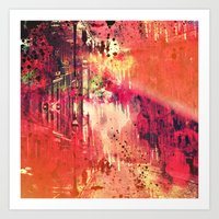 The Past Always Seems Brighter Upon Reflection Art Print