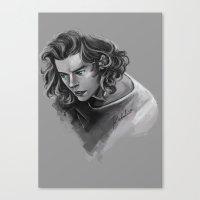 Green Eyes Canvas Print