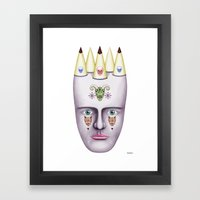 Skulls 2 Framed Art Print