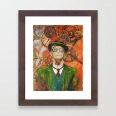 Efímera superioridad Framed Art Print