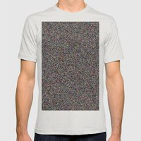NOiSE Mens Fitted Tee Silver SMALL