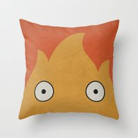 Howl's Moving Castle Pos… Throw Pillow