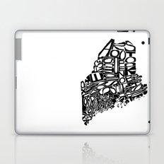Typographic Maine Laptop & iPad Skin