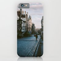 iPhone & iPod Case featuring The Royal Mile in Edinburgh, Scotland by norakathleen