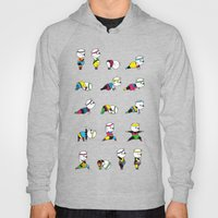 Yoga Bear - 80's Remix Hoody