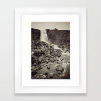National Park, Iceland Framed Art Print