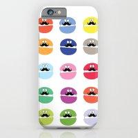 mustache macarons iPhone 6 Slim Case