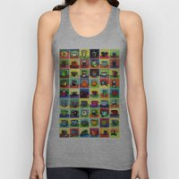 The Daily Coffee Poster Unisex Tank Top