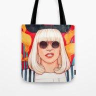 Jazz Art Pop Punk Tote Bag