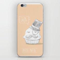 british muffin iPhone & iPod Skin