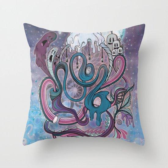 The Dream Catcher Throw Pillow