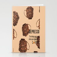 Depresso Stationery Cards