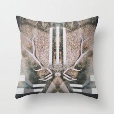 Elk Spirit Throw Pillow