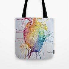 Graffiti Heart Tote Bag