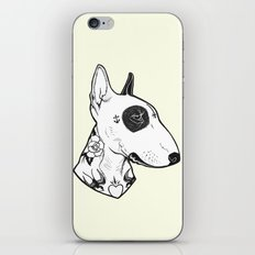Bull Terrier dog Tattooed iPhone & iPod Skin