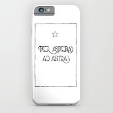 Per Aspera Ad Astra Slim Case iPhone 6s