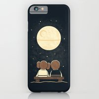 iPhone Cases featuring Moon Gazing by Teo Zirinis