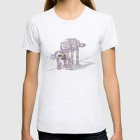 Not quite a fire hydrant Womens Fitted Tee Ash Grey SMALL