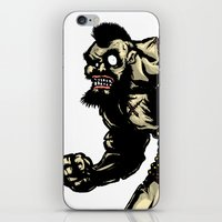 Bear Wrestler - Street Fighter iPhone & iPod Skin