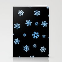 Snowflakes (Blue & White… Stationery Cards