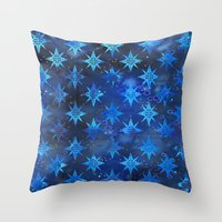 Tribal America {STARS} Throw Pillow