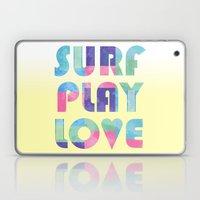 Surf Play Love Laptop & iPad Skin