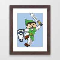 A link to the Block Framed Art Print