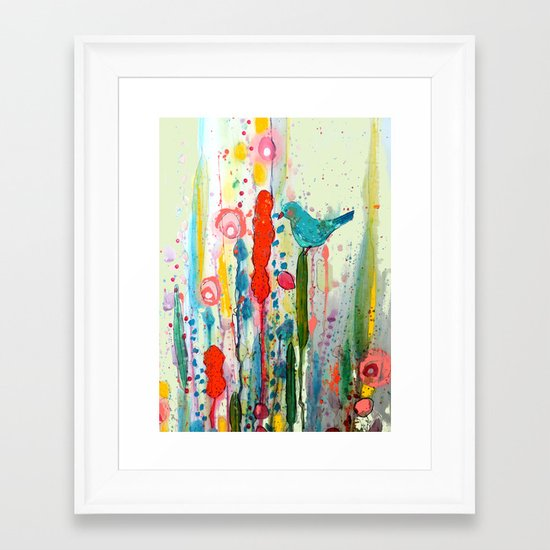 vivant Framed Art Print