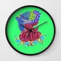 Lady of Death Wall Clock
