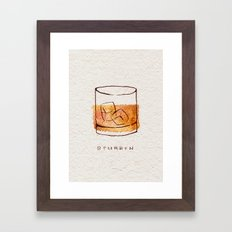Bourbon Framed Art Print
