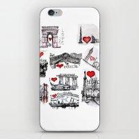 Cities 1  iPhone & iPod Skin