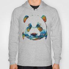 Colorful Panda Bear Art By Sharon Cummings Hoody