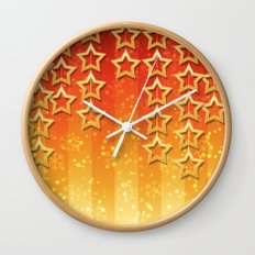 Is Christmas Coming? Wall Clock