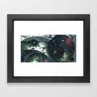 Junkyard At Proxy Centau… Framed Art Print