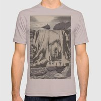 Ice Mens Fitted Tee Cinder SMALL