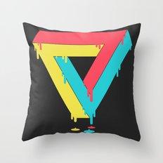 Mixed up Throw Pillow