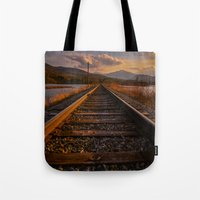 Grand Trunk Railway Tote Bag