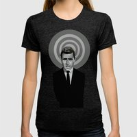 Rod Serling Womens Fitted Tee Tri-Black SMALL