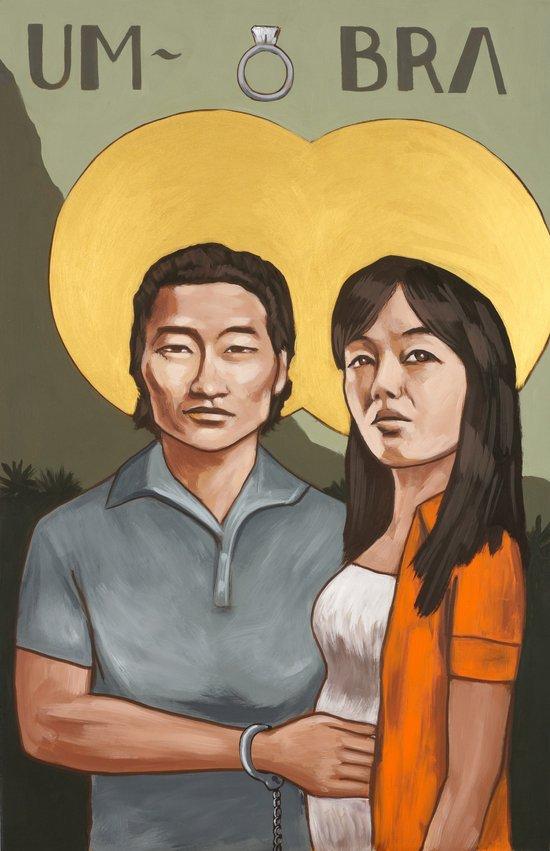 Saints of LOST   Jin & Sun Art Print