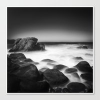 Time On The Rocks Canvas Print