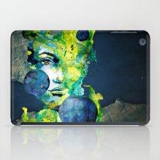 Evelin Green (Set) by carographic watercolor portrait iPad Case